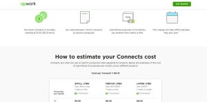 upwork connects